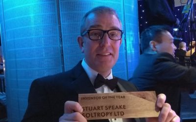 "Stuart wins Made In Scotland ""Inventor of the Year"""